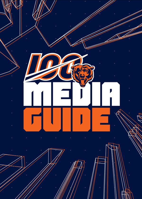 NFL Media Guide: Chicago Bears (2019)