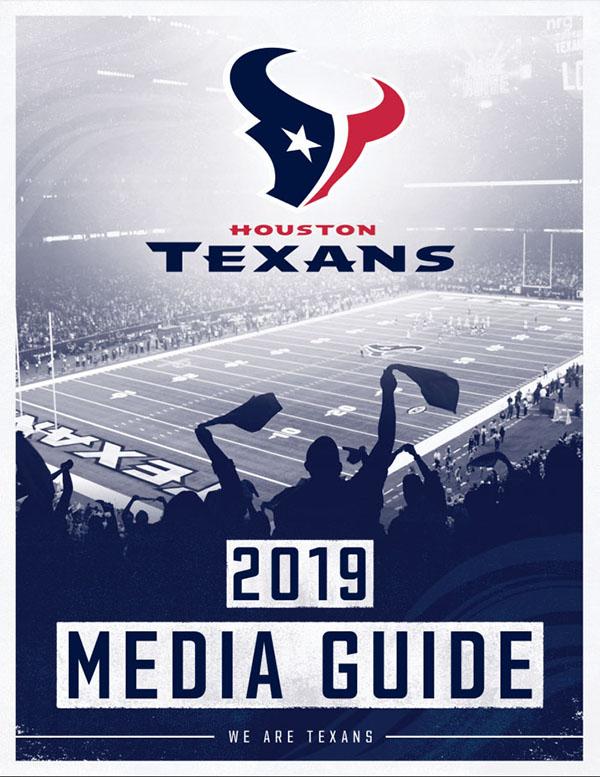 NFL Media Guide: Houston Texans (2019)