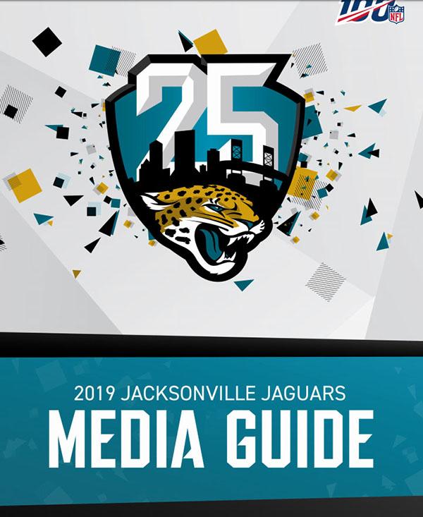 NFL Media Guide: Jacksonville Jaguars (2019)