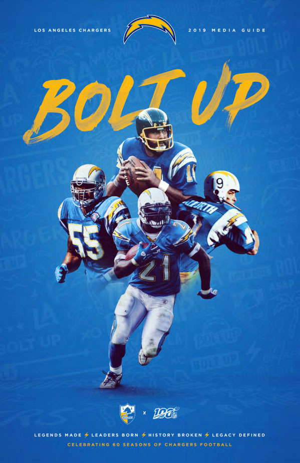 NFL Media Guide: Los Angeles Chargers (2019)