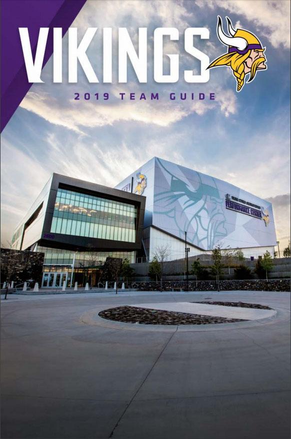 NFL Media Guide: Minnesota Vikings (2019)