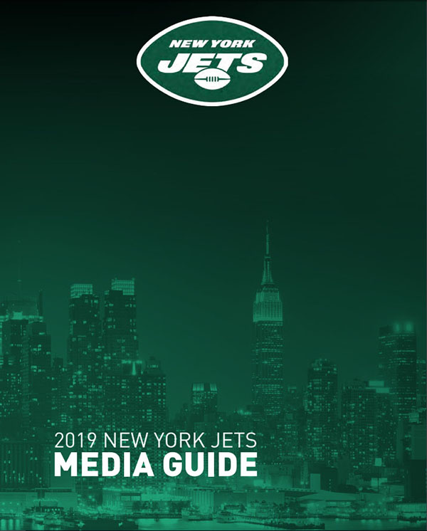 NFL Media Guide: New York Jets (2019)