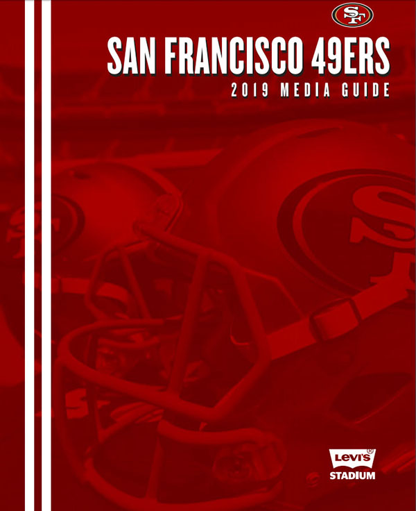 NFL Media Guide: San Francisco 49ers (2019)