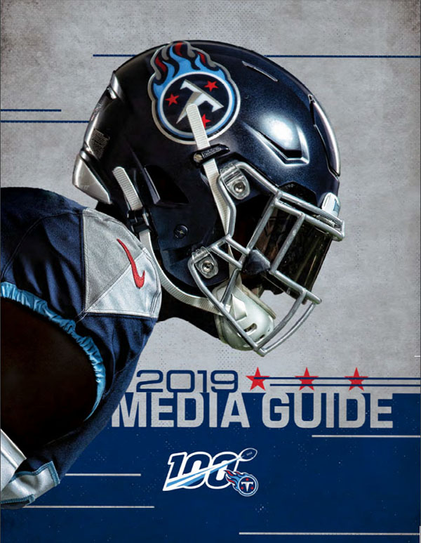 NFL Media Guide: Tennessee Titans (2019)