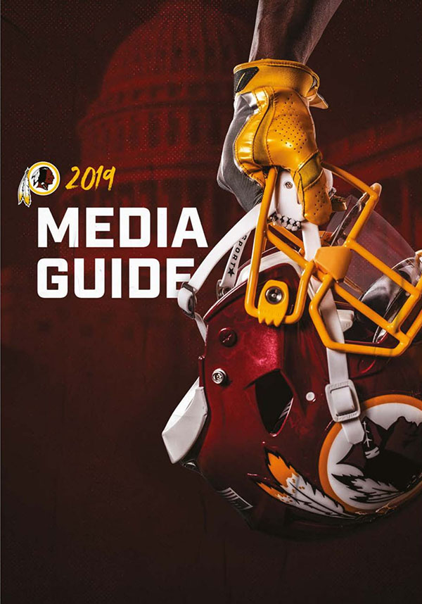 NFL Media Guide: Washington Redskins (2019)