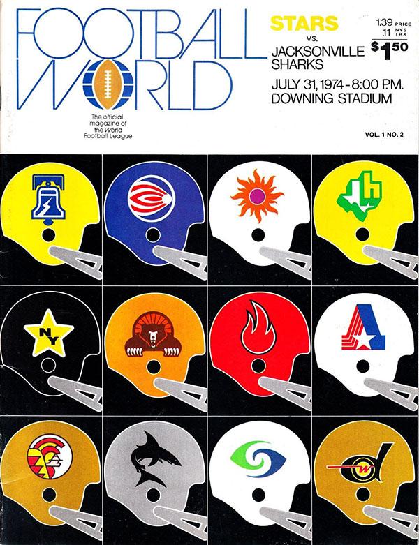 New York Stars vs. Jacksonville Sharks (July 31, 1974)