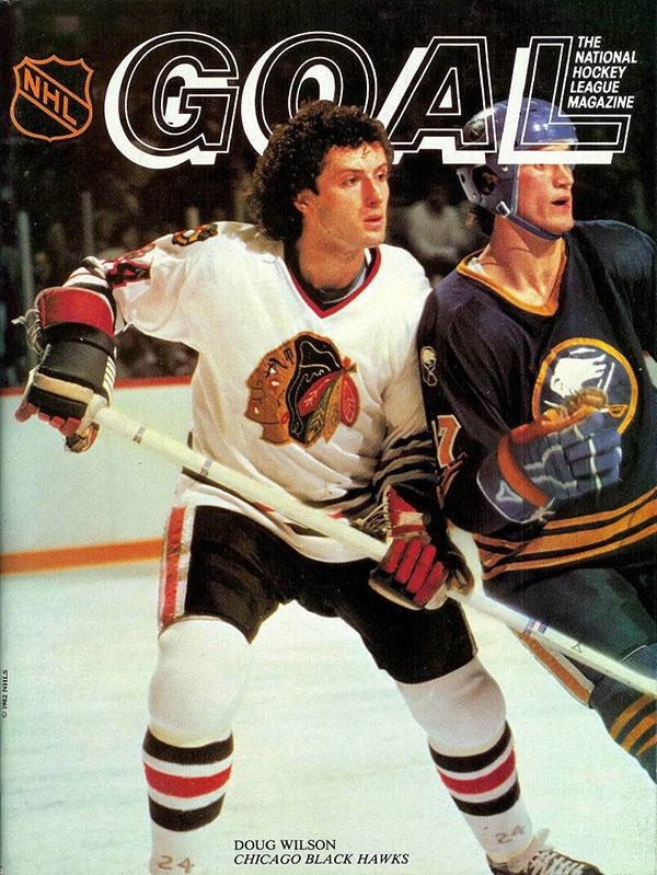 Doug Wilson cover, Chicago Blackhawks