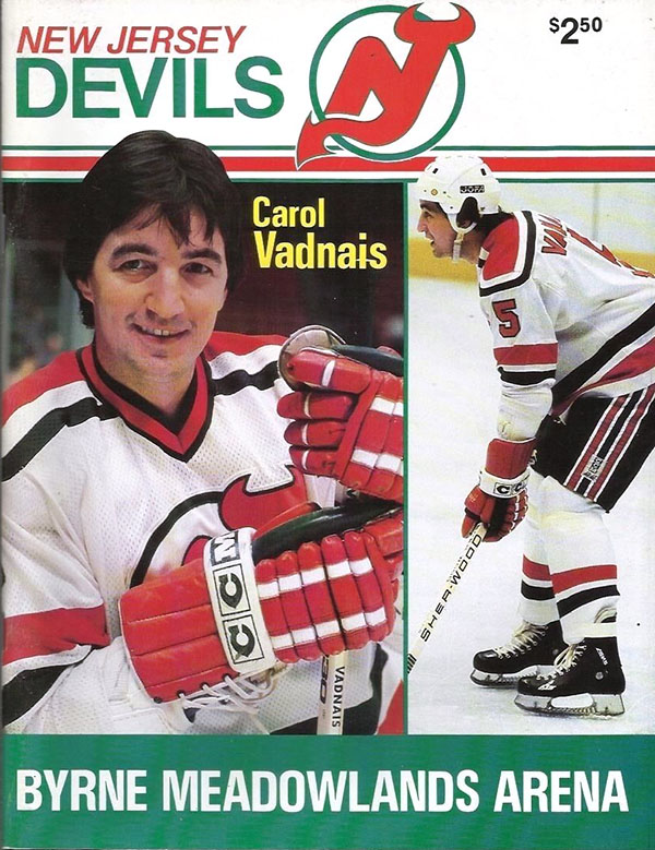 new concept 6df48 c89c8 NHL Program: New Jersey Devils (1982-83) | SportsPaper.info