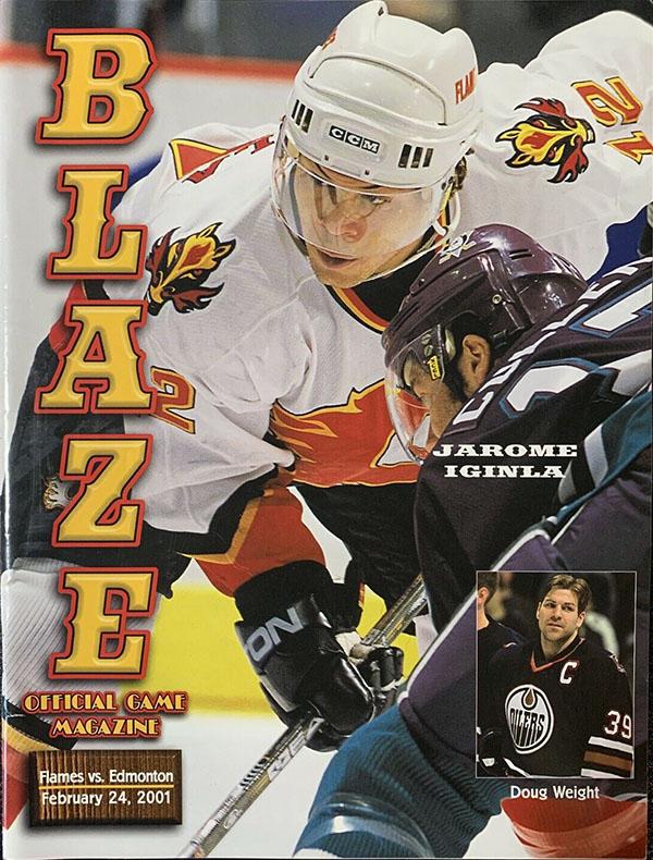 Jarome Iginla program, Calgary Flames
