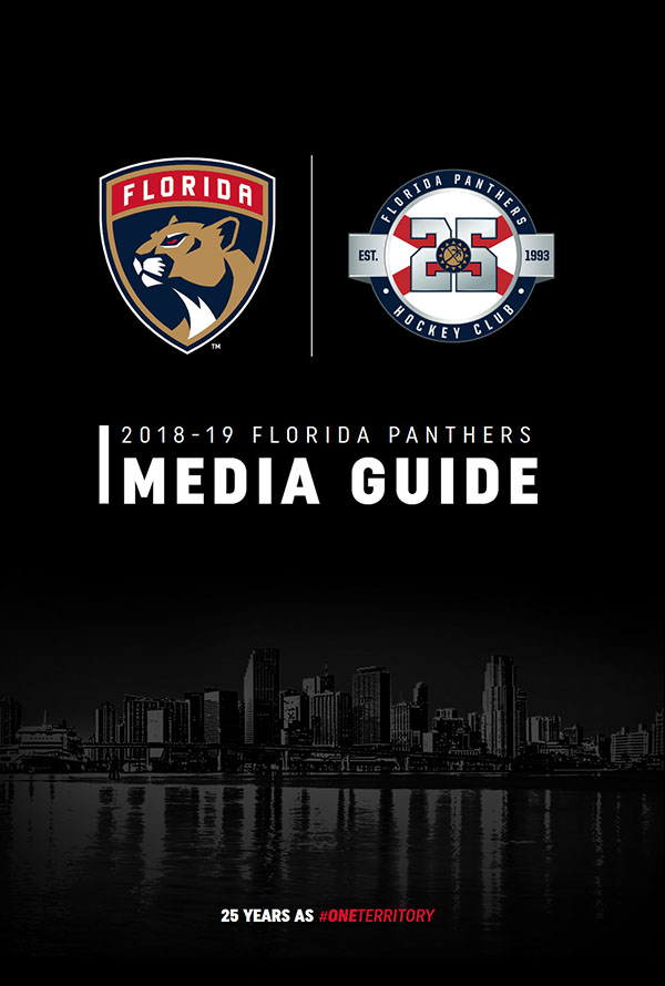 2018-19 FLORIDA PANTHERS MEDIA GUIDE