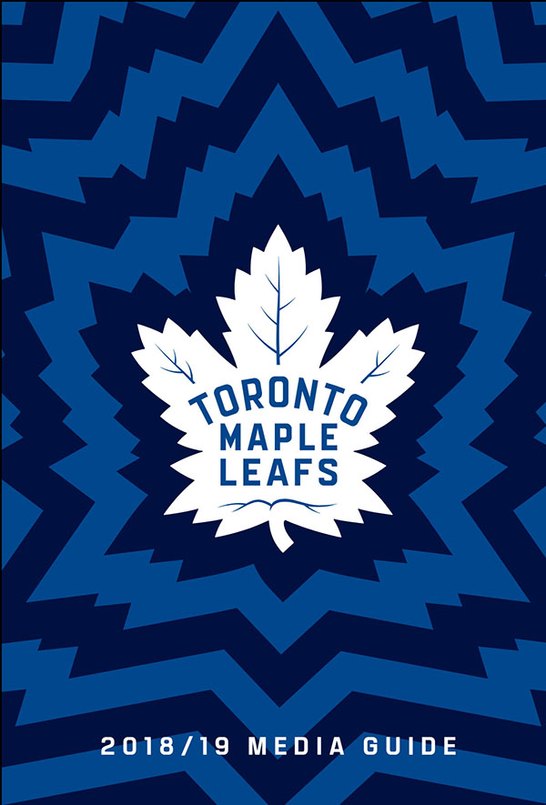 2018-19 TORONTO MAPLE LEAFS MEDIA GUIDE