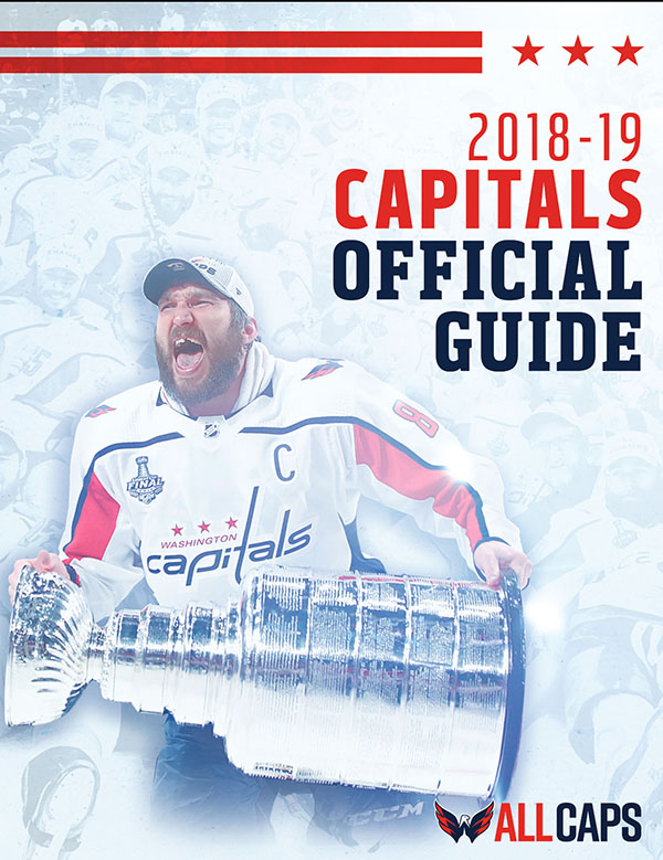 2018-19 WASHINGTON CAPITALS MEDIA GUIDE