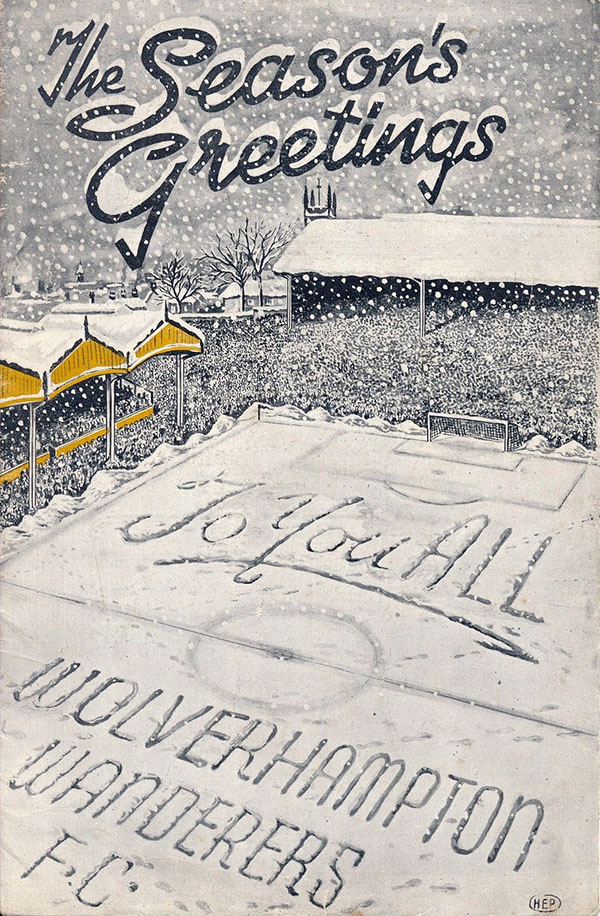 Wolverhampton Wanderers vs. Aston Villa (December 27, 1947)