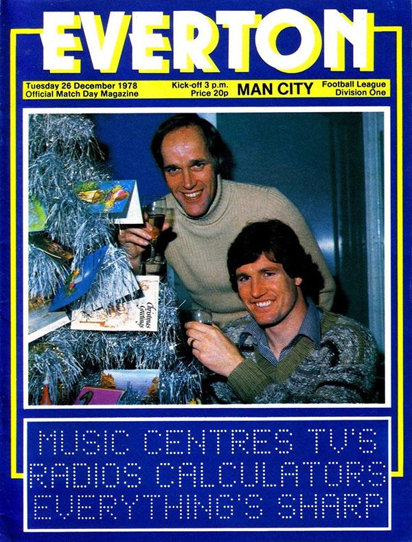 Everton vs. Manchester City (December 26, 1978)
