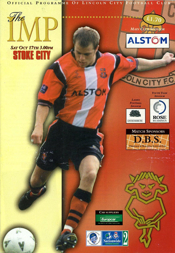 Lincoln City vs. Stoke City (October 17, 1998)