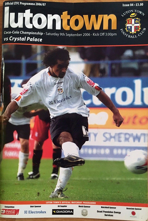 Luton Town vs. Crystal Palace (September 9, 2006)