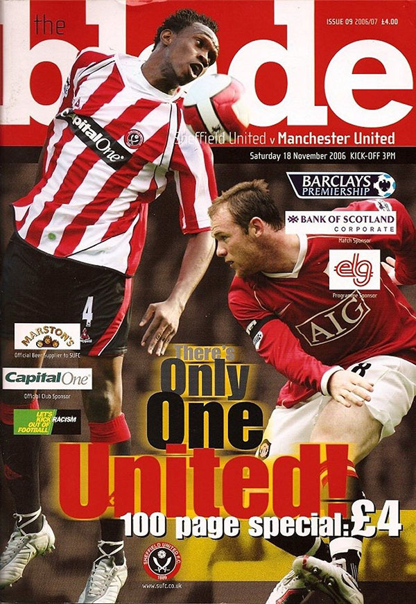 Sheffield United vs. Manchester United (November 18, 2006)