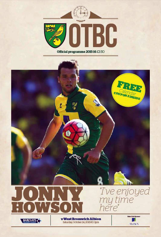 Norwich City vs. West Bromwich Albion (October 24, 2015)