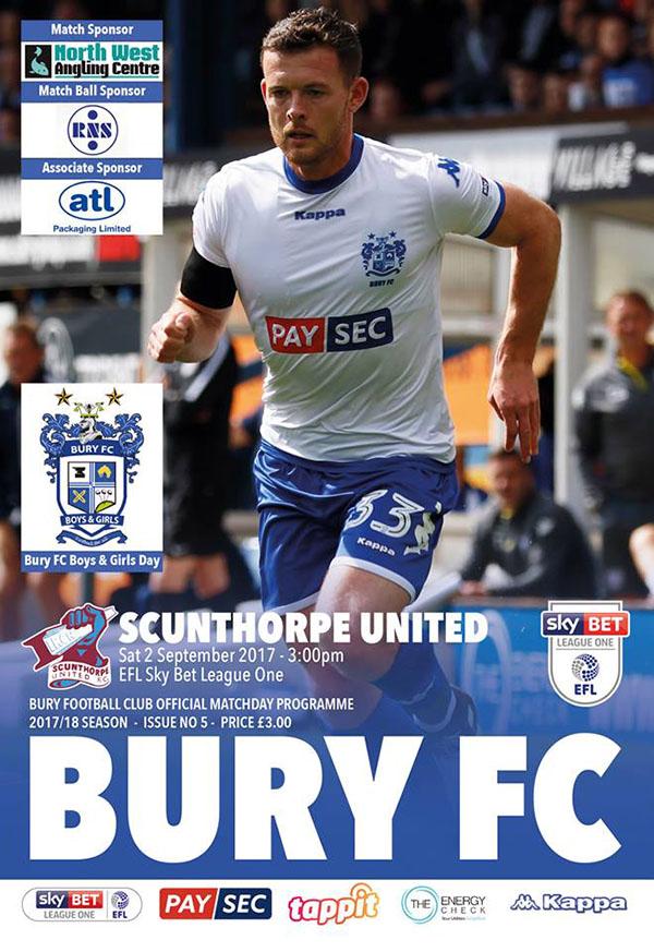 Bury vs. Scunthorpe United (September 2, 2017)