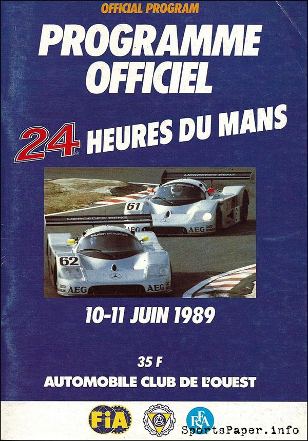 1989 24 Hours of Le Mans